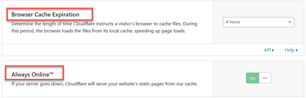 Cloudflare Browser Cache Expiration