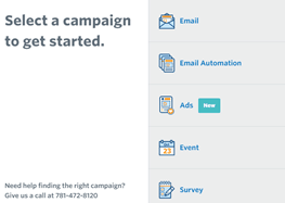 Constant Contact Campaign Builder