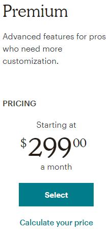 Mailchimp Premium Pricing