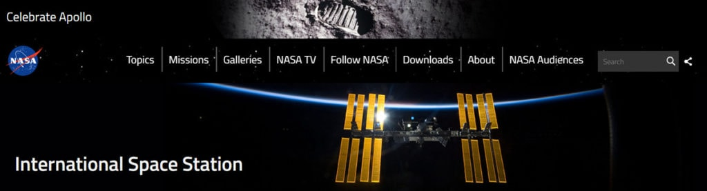Overnight Stay On The Iss Homepage