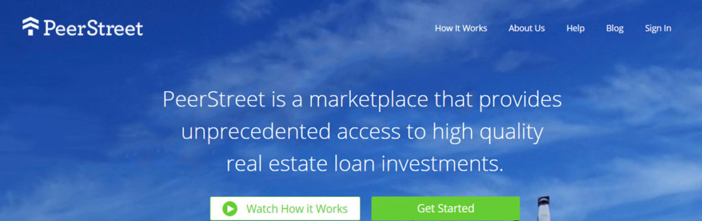Peer Street Homepage