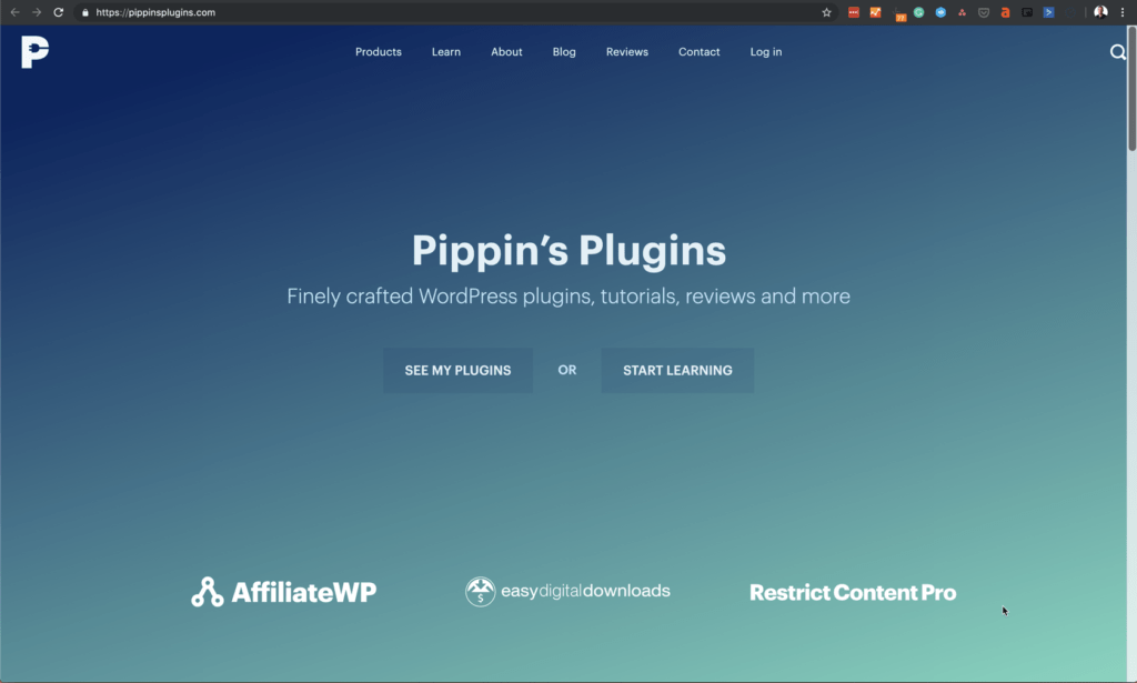 Pippins Plugins Homepage
