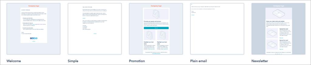 Premium Email Templates Hubspot