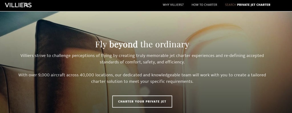 Villiers Jets Homepage