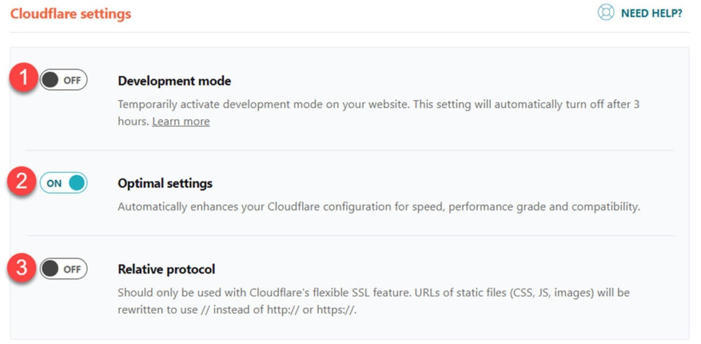 Wp Rocket & Cloudflare Add On Settings
