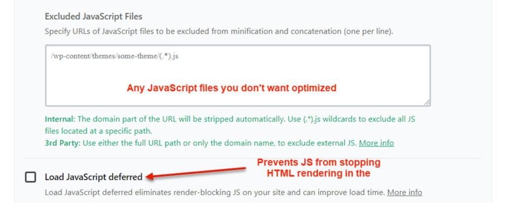 Wp Rocket Load Javascript Deferred