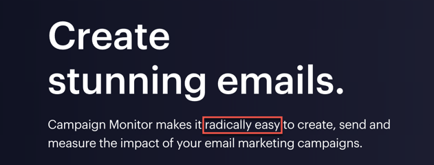 Create Radically Easy Emails With Campaign Monitor