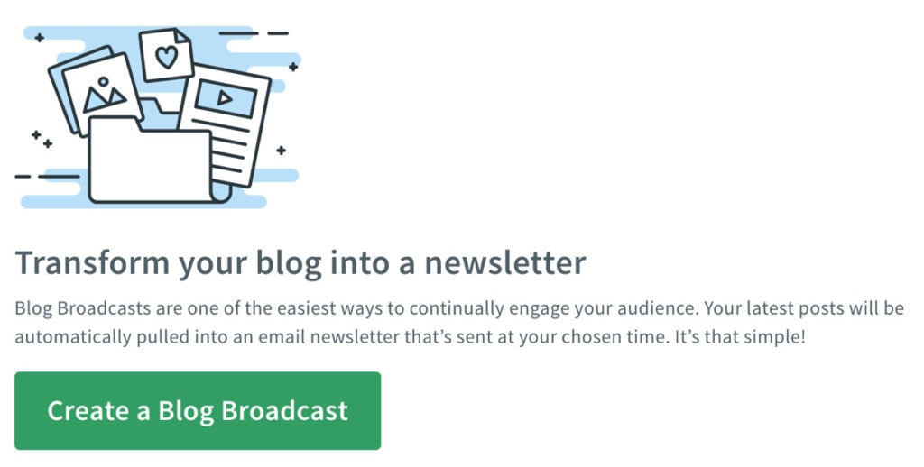 Transform Your Blog Into A Newsletter