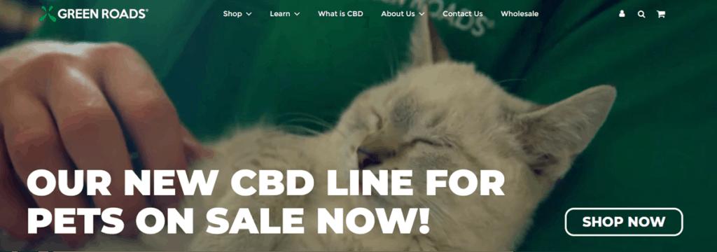 Green Roads Cbd Homepage