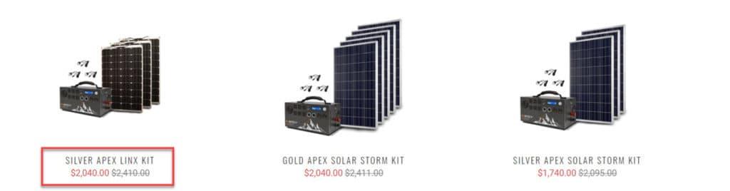 Inergy Solar Panels