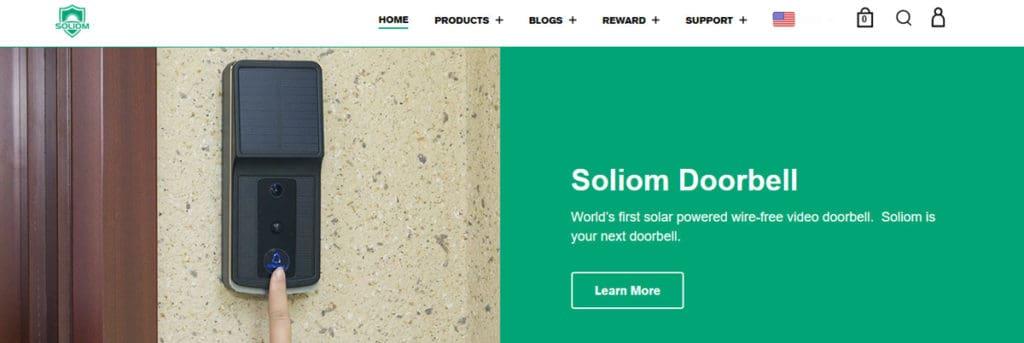 Soliom Homepage