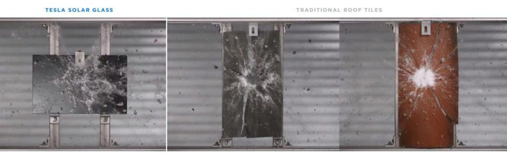 Tesla Solar Glass Vs Traditional Roof Tiles