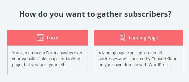 Convertkit Adding Subscribers Via Form Or Landing Page