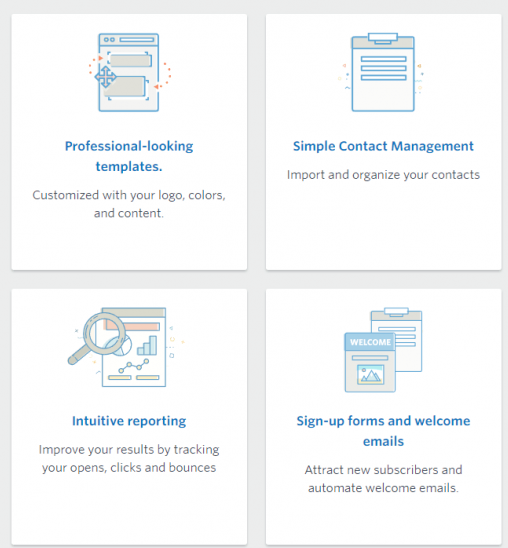 Mailchimp Interface Overview