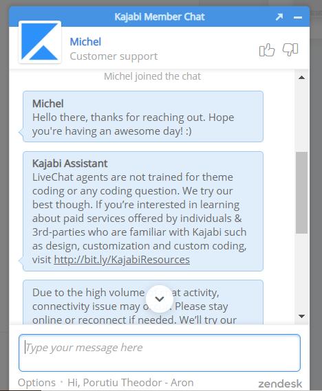 Kajabi Member Chat