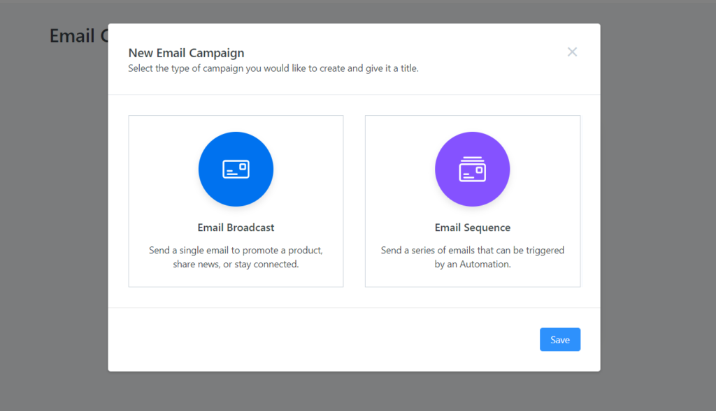 Kajabi New Email Campaign