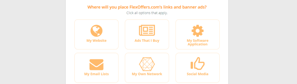 Flexoffers Links And Banners Placement