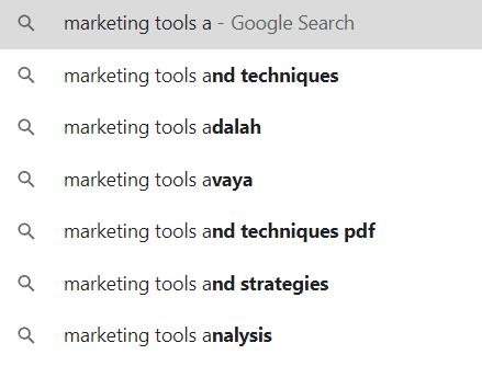 Google Recommended Keywords Vs Jaaxy Alphabet Soup