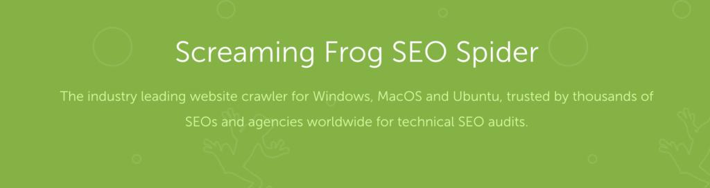 Screaming Frog Tool Screenshot
