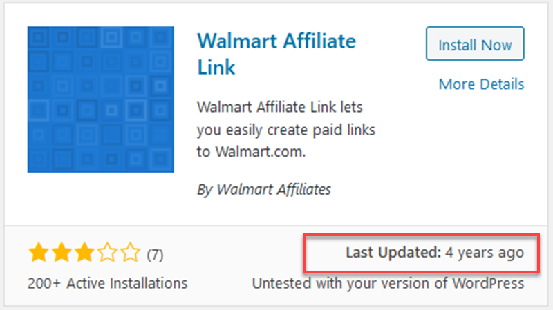 Walmart Affiliate Link Plugin