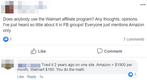 Walmart Affiliate Program Commission Structure Comment3