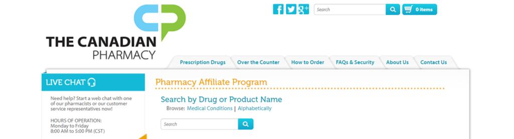 The Canadian Pharmacy Affiliate Program