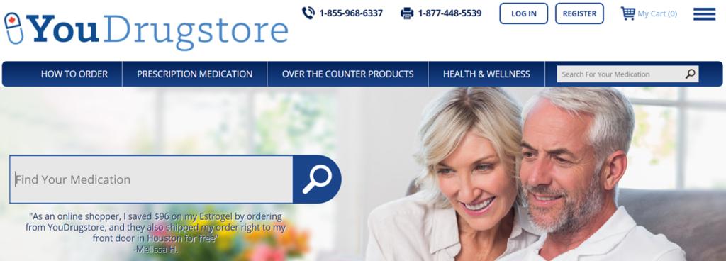 Youdrugstore Homepage Screenshot