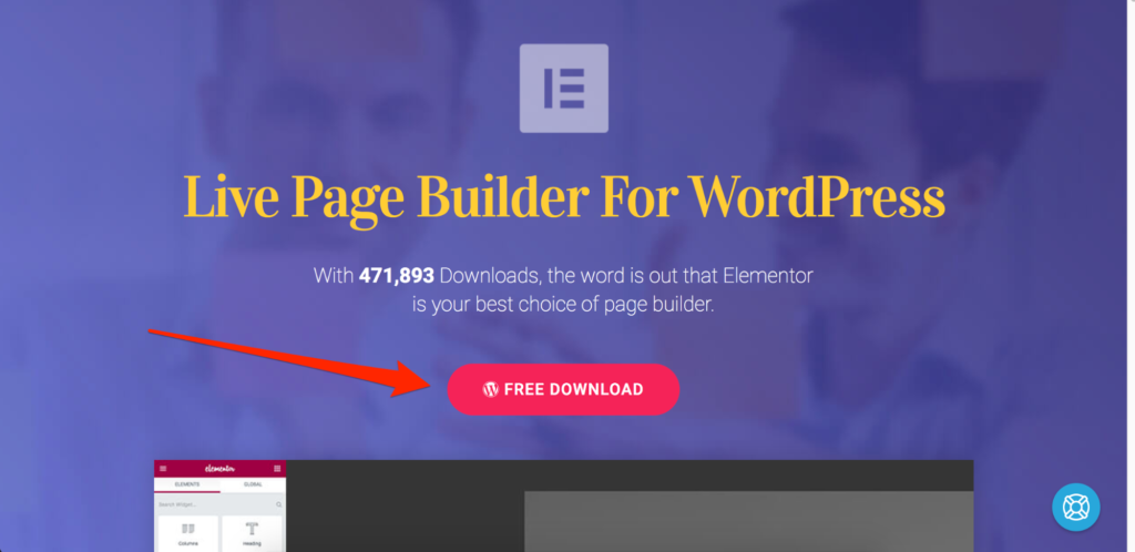 Elementor Free Version Download