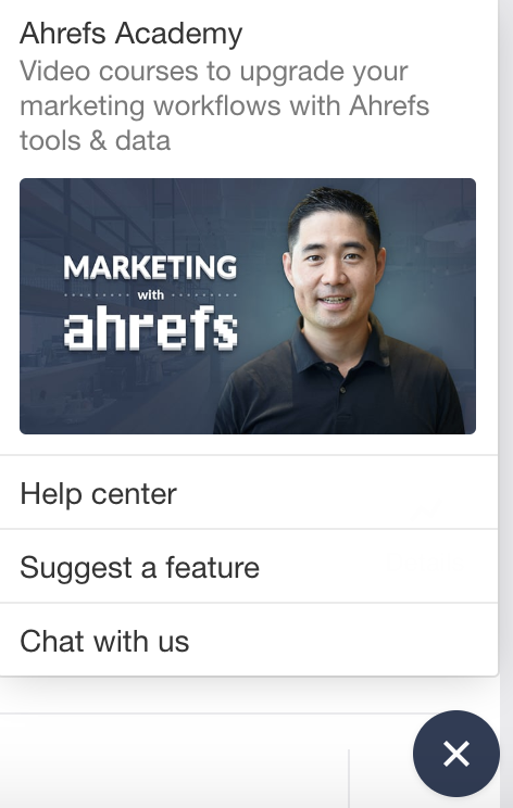 Ahrefs Support On Intercom