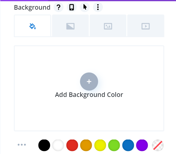 Background Colors In Divi