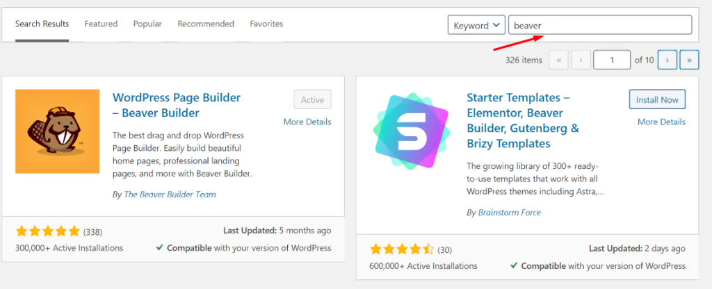 Beaver Builder Plugin In WordPress