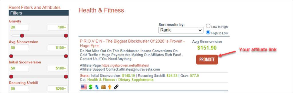 Creating Affiliate Links Clickbank