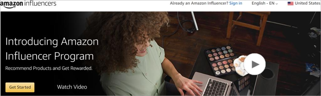 Amazon Influencer Program