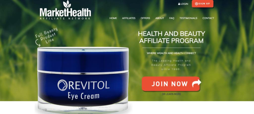 Market Health Homepage