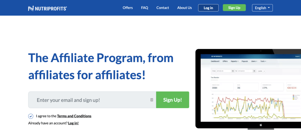 Nutriprofits Homepage