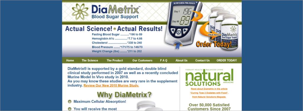 Diametrix Homepage