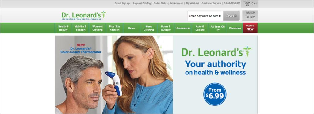 Dr Leonards Homepage