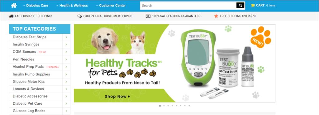 Total Diabetes Supply Homepage