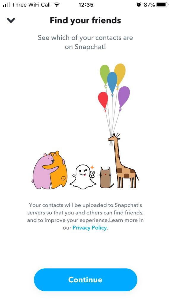 Growing Snapchat Following
