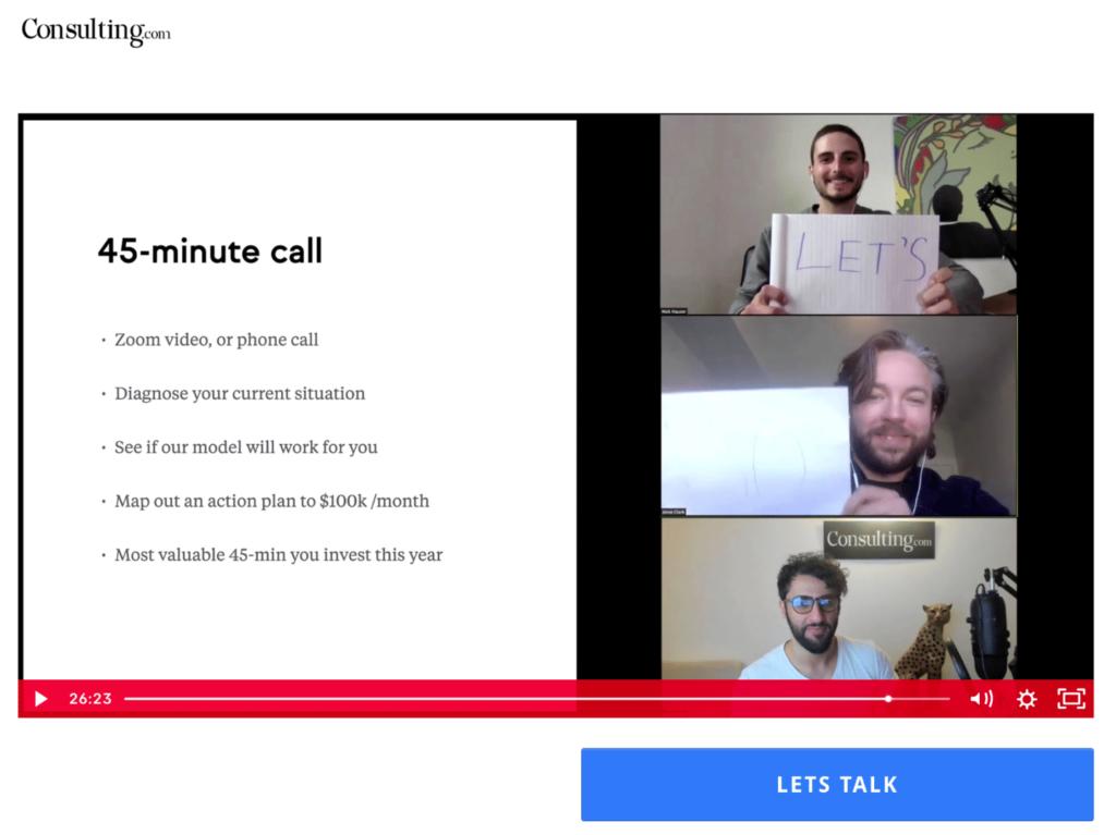 Consulting.com Call Cta