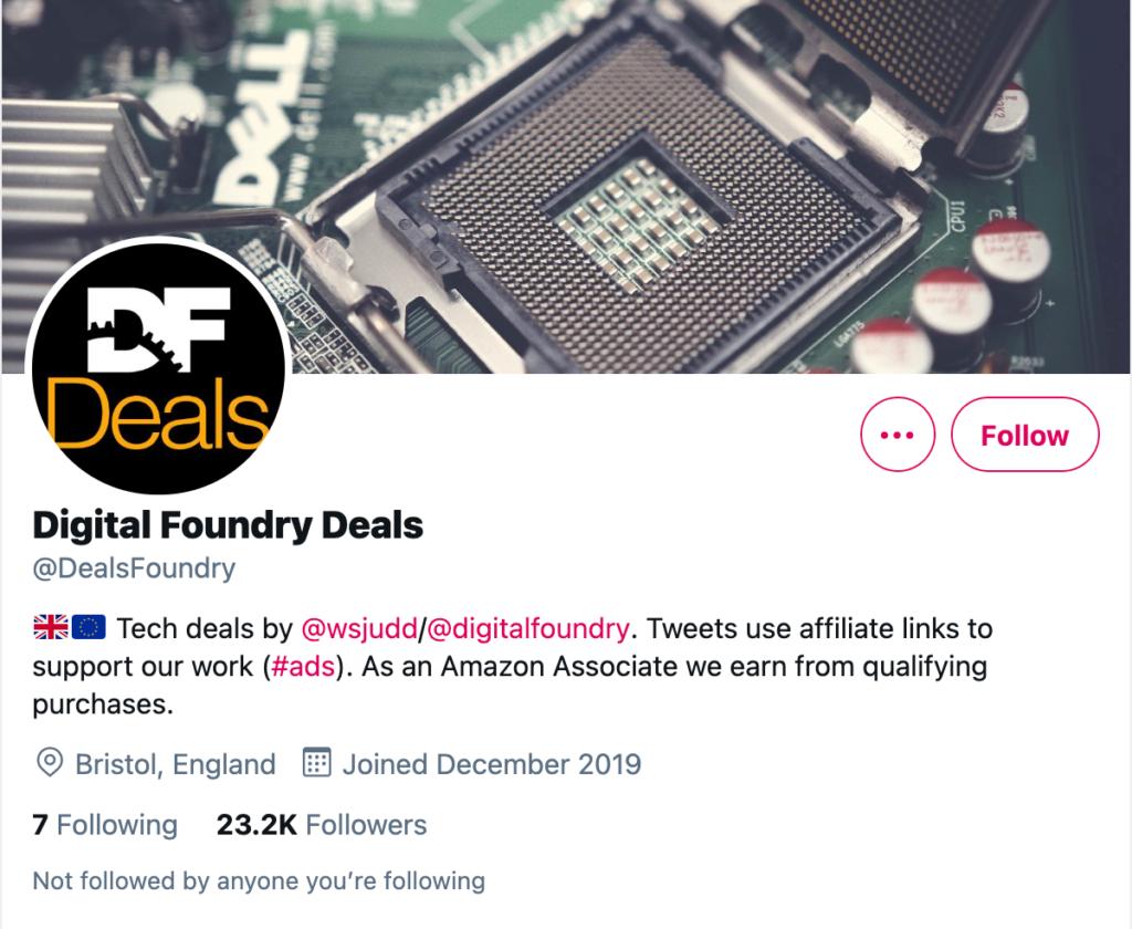 Digital Foundry Deals Twitter