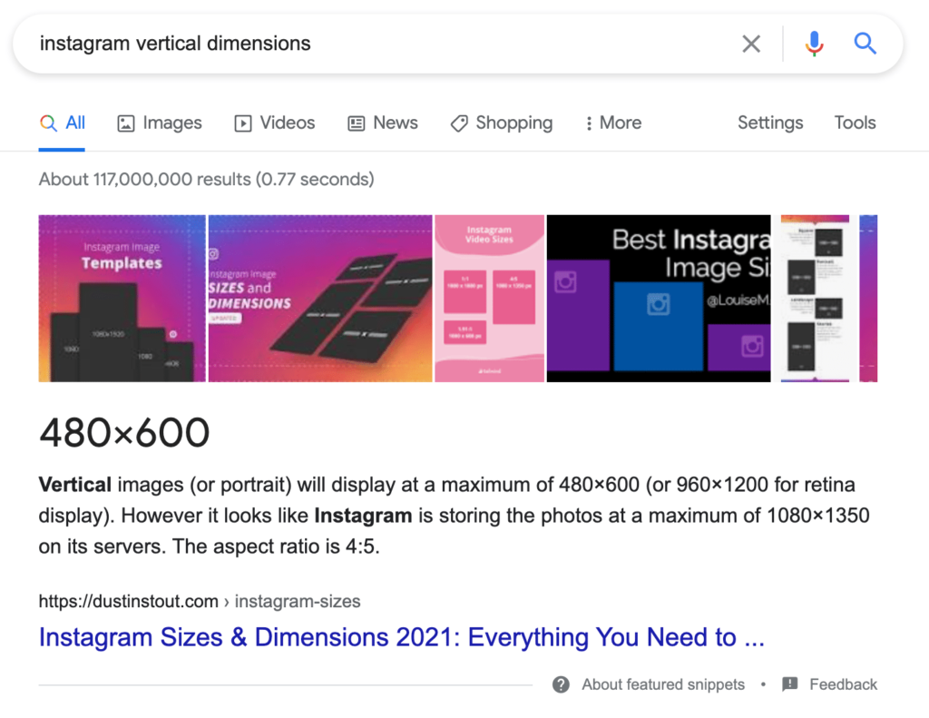 Dustinstout Google Ranking