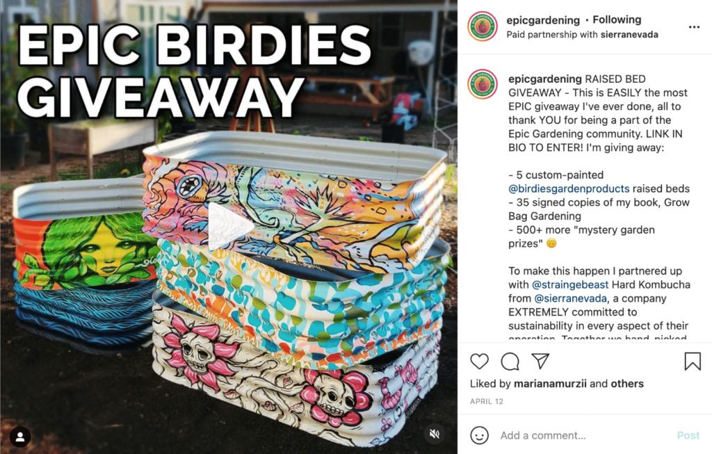 Epic Birdies Giveaway Social