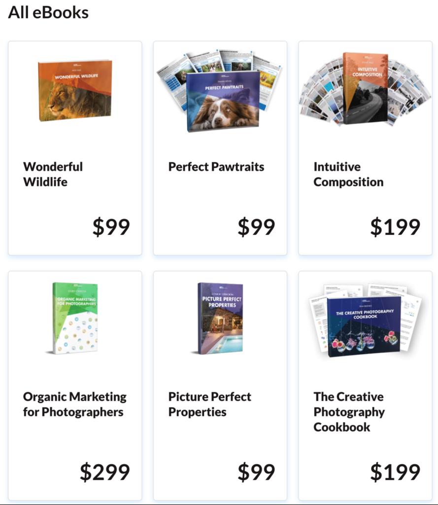 Expert Photography Ebooks
