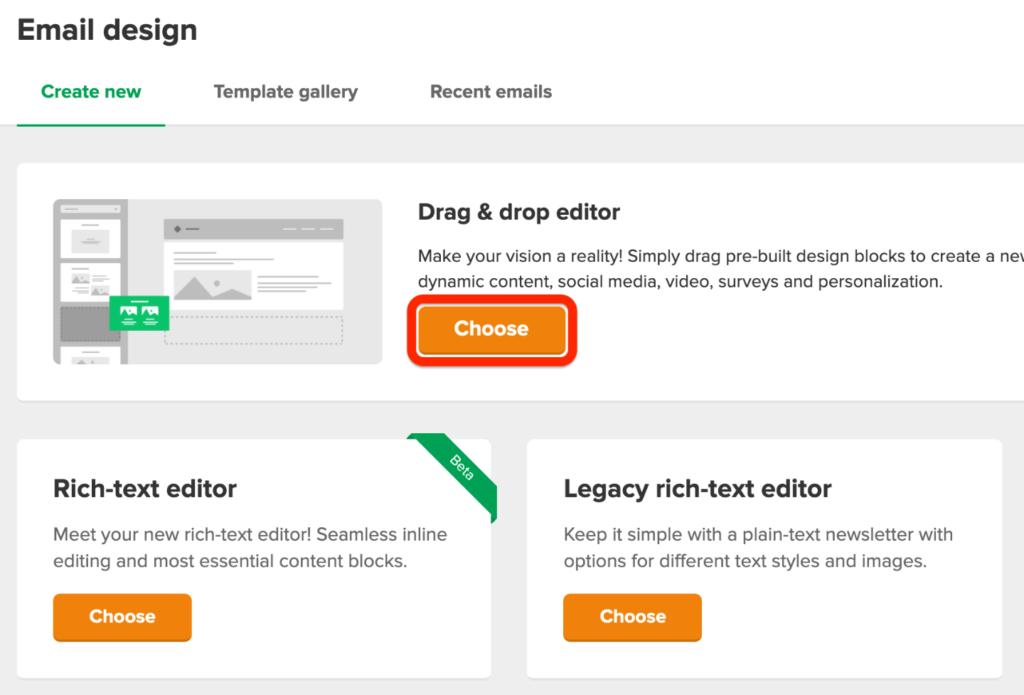 Mailerlite Email Design