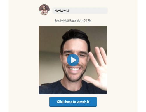 ConvertKit Bonjoro Personalized Welcome Video