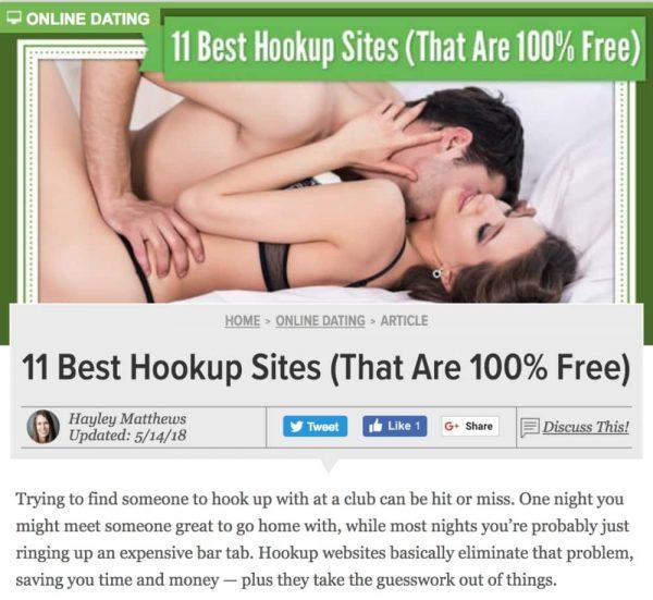 DatingAdvice 11 Best Hookup Sites