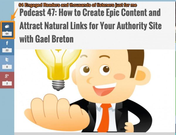 How to Create Epic Content and Attract Natural Links for Your_Authority Site with Gael Breton Niche Pursuits