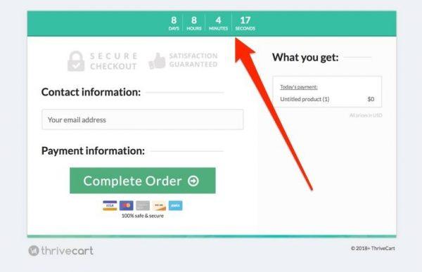 ThriveCart Countdown