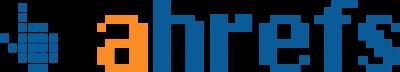 Ahrefs Logo Horizontal